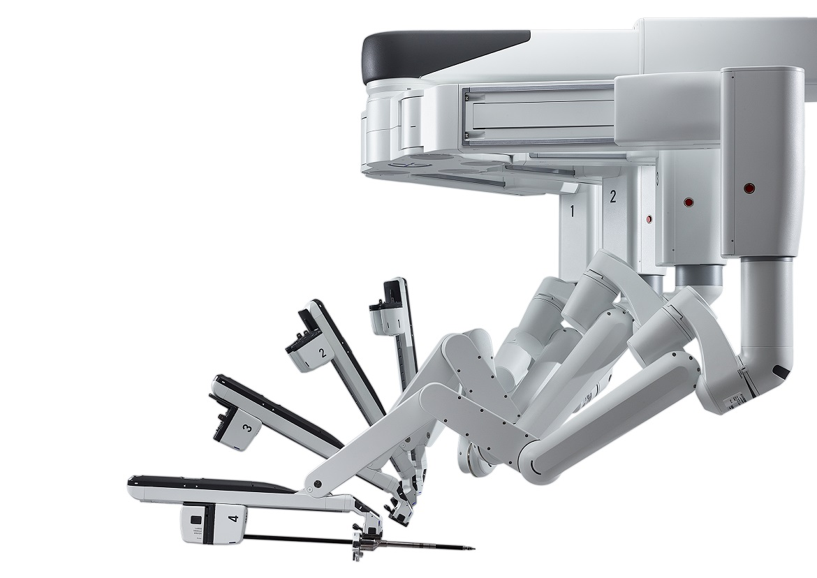 ©[2018] Intuitive Surgical, Inc. Chirurgische Roboterarme